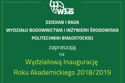 inauguracja 2018/2019
