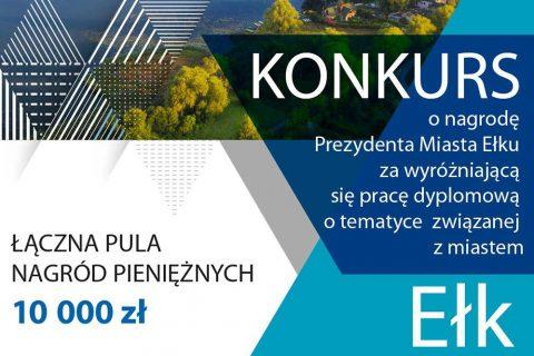 grafika, konkurs o nagrodę Prezydenta Miasta Ełku